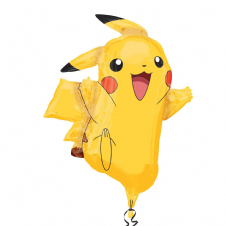 Pikachu Pokemon Super Shape Foil Balloon